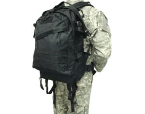 Spec Ops Molle Assault Backpack - Black Back Pack