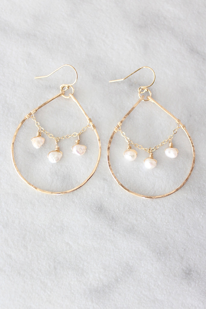 Kira Hawaii - Amelie Earrings, Jewelry at Kira Hawaii