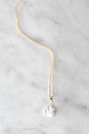 Kira Hawaii  - Pearl Coin Necklace, Jewelry