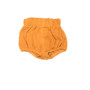 Kira Hawaii  - High Waisted Bloomers, KH Kids | Orange / 3-6M