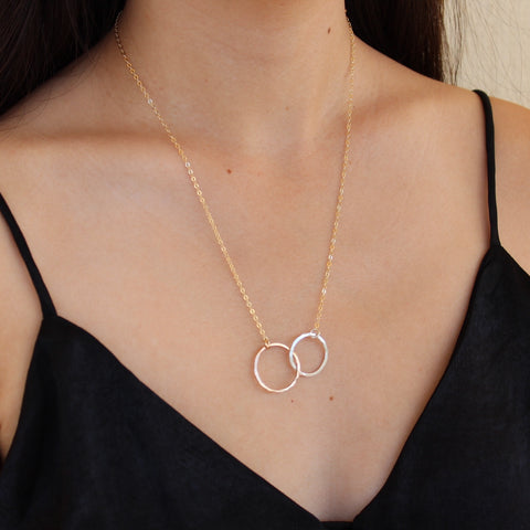 Circles Of Love Necklace