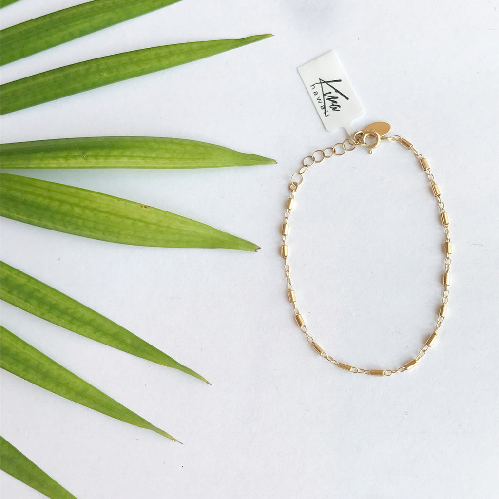 "Kira Hawaii  - Bobby Bracelet 6""+1"" ext. 