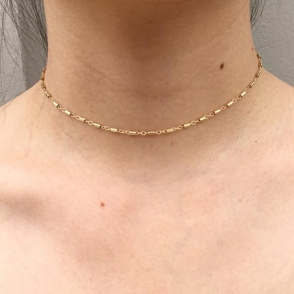 Kira Hawaii  - Bobby Choker | 14K GOLD FILLED