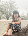 Kira Hawaii  - Bailee Dress- Lilah Print | Lilah Moonrise / 3-6M