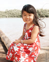 Kira Hawaii  - Bailee Dress- Lilah Print | Lilah Sunset / 3-6M