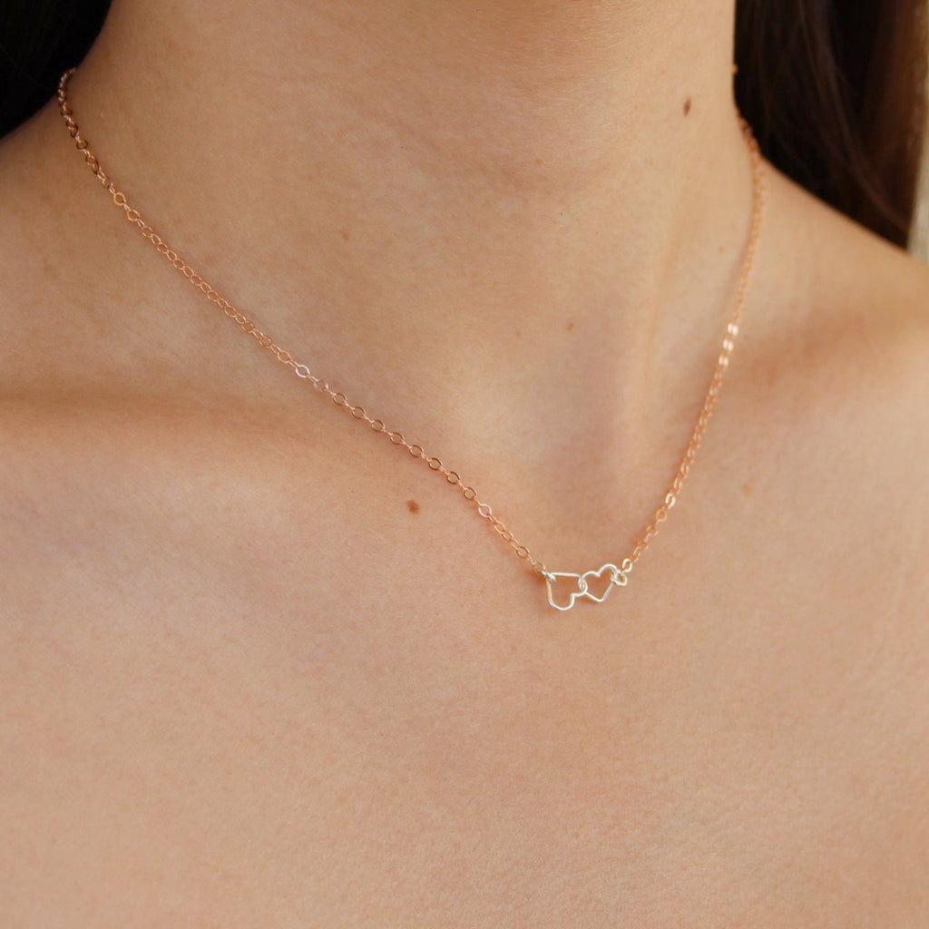 Kira Hawaii - Heart To Heart Necklace, Jewelry at Kira Hawaii