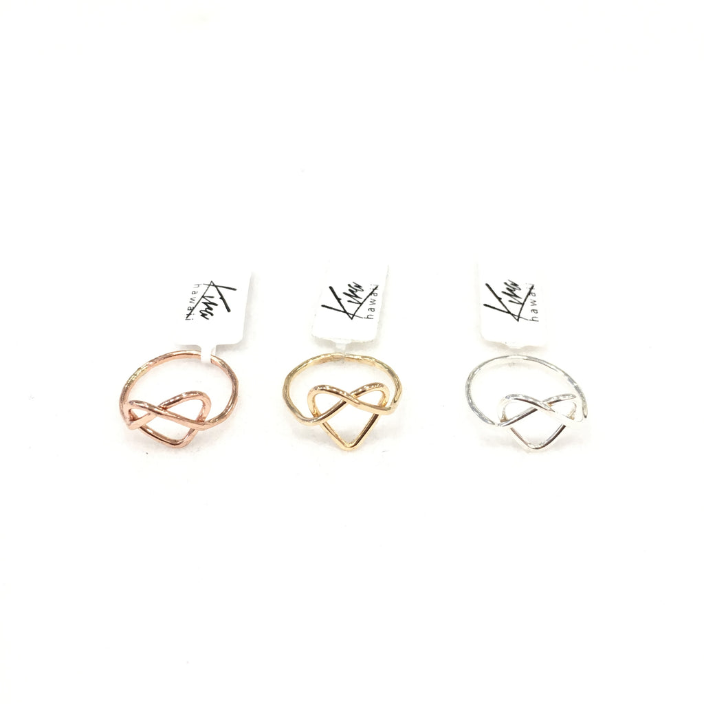 Kira Hawaii - Love You Knot Ring, Jewelry at Kira Hawaii