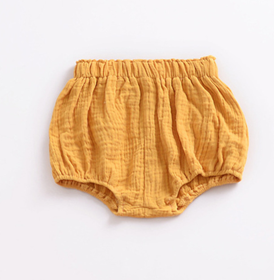 Kira Hawaii  - High Waisted Bloomers, KH Kids | Rust / 3-6M