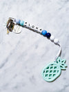 Kira Hawaii  - Pineapple Teethers | Blue Pineapple//Blue