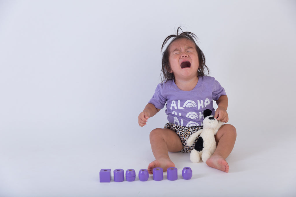 Honolulu Baby Co. - Aloha x3 Tee in Purple at Kira Hawaii