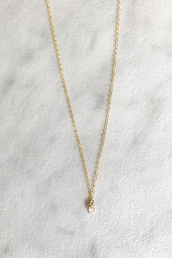 "Kira Hawaii  - Poppy Necklace | 14K Gold Filled / 16"" / DROP"