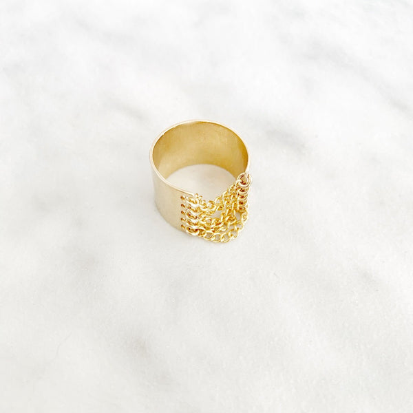 Kira Hawaii  - Rebel Ring | 14K GOLD FILLED / 5/6