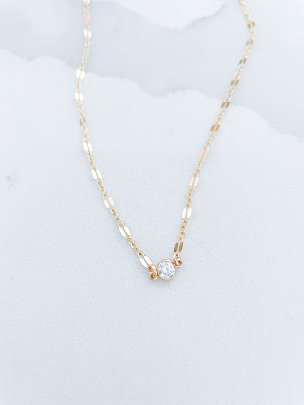 Kira Hawaii - Poppy Ami Necklace - 14k Gold Filled at Kira Hawaii
