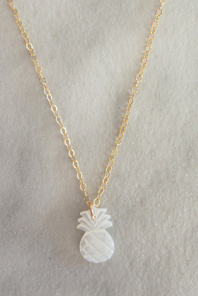 Kira Hawaii  - Pineapple Necklace | 14k Gold Filled
