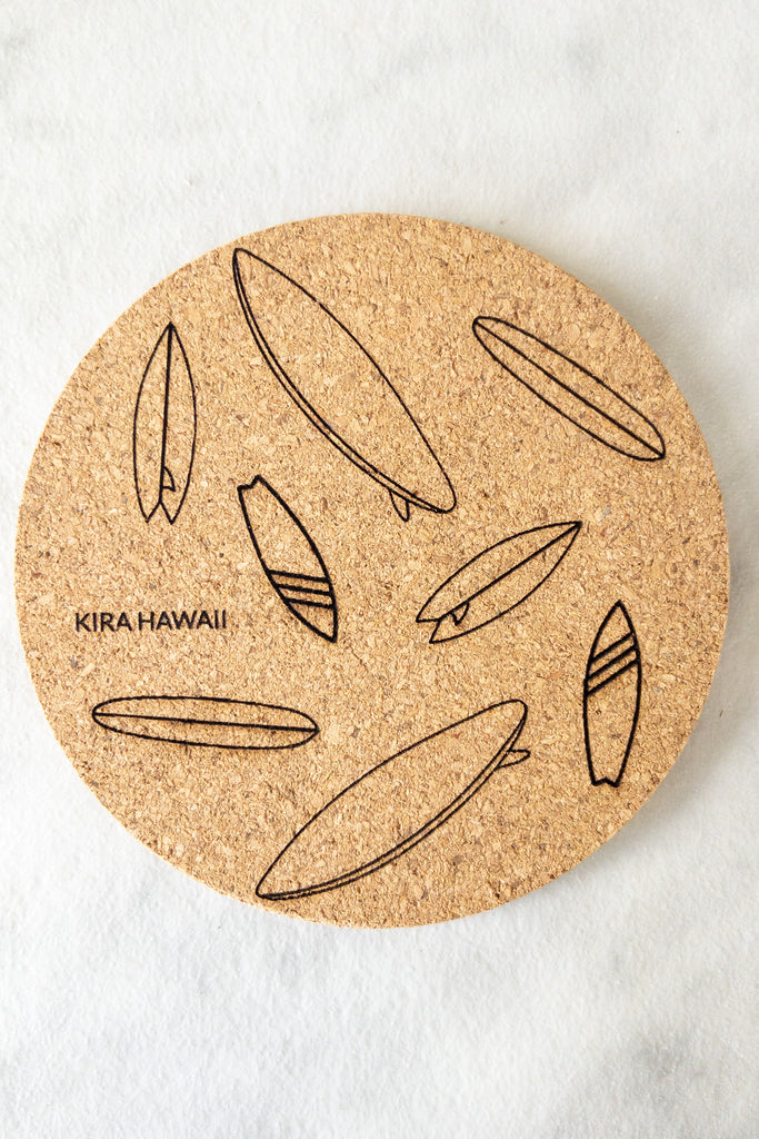 Kira Hawaii  - Coasters | SURFBOARDS