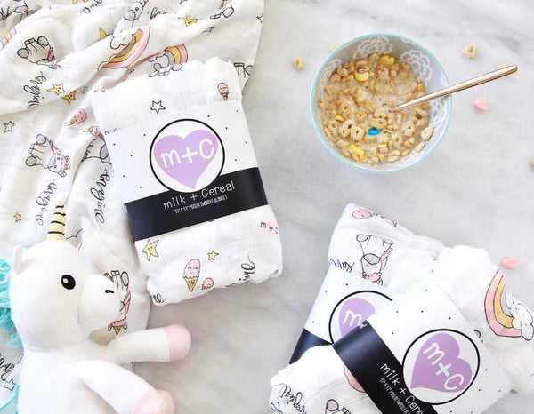 Milk + Cereal - Milk + Cereal Swaddle, Swaddle at Kira Hawaii