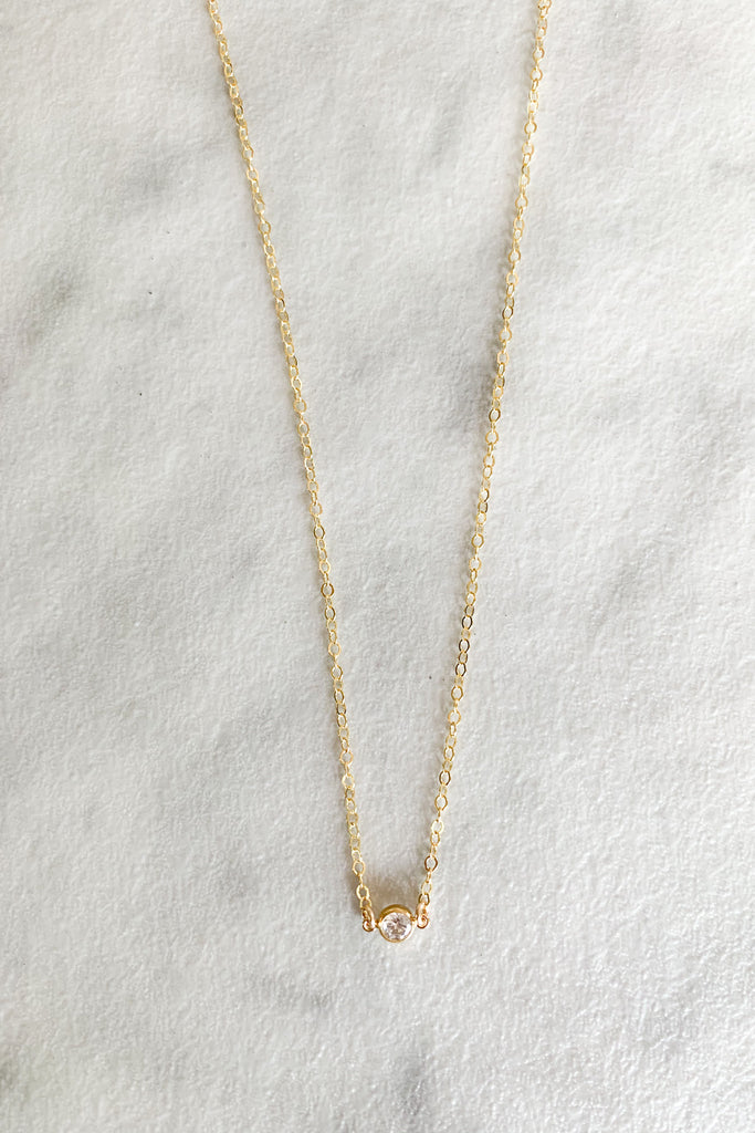 Kira Hawaii  - Poppy Necklace | 14K Gold Filled / 16""