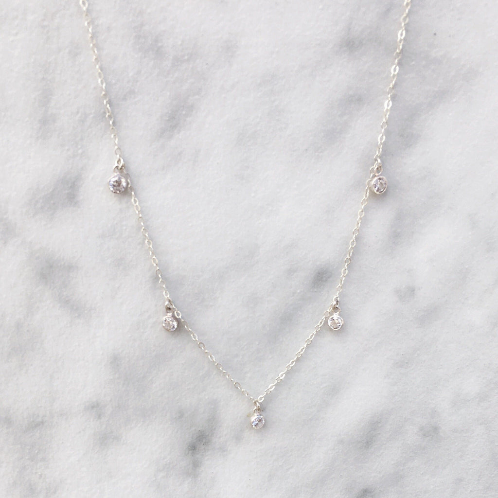 Kira Hawaii  - Gigi Necklace | Sterling Silver