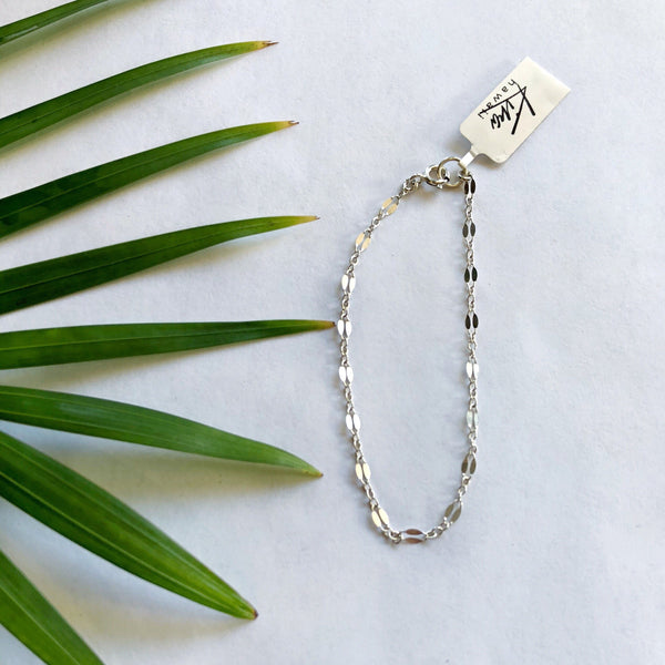 Kira Hawaii  - Ami Bracelet, Kira Hawaii Jewelry | STERLING SILVER / 6""