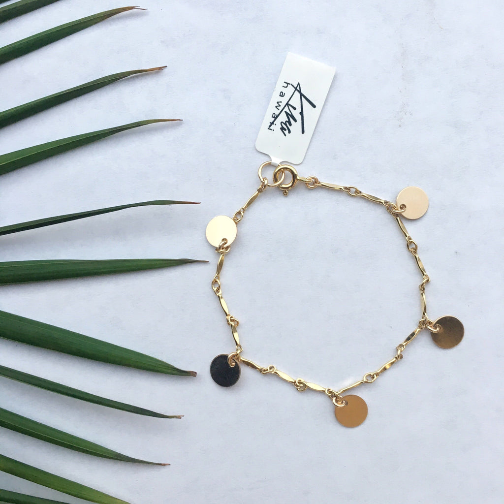 "Kira Hawaii  - Artemis Bracelet 6""+1""ext. 
