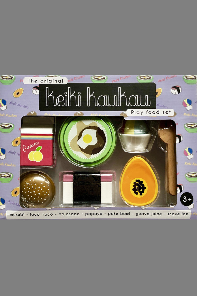 Keiki KauKau - Play Food Set, Kids Toys at Kira Hawaii