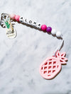 Kira Hawaii  - Pineapple Teethers | Pink Pineapple//Pink