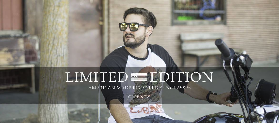 limited edition wooden sunglasses