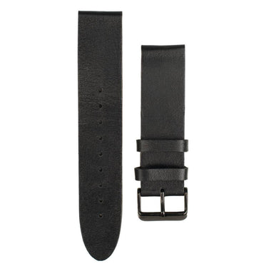 American made eclipse leather strap for Woodzee wood watch