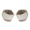Spitfire Hype Oversized Silver Mirrored Sunglasses - Sunglasses - Spitfire
