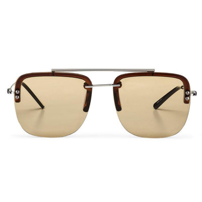 Spitfire Nude Metal Brow Bar Sunglasses - Sunglasses - Spitfire