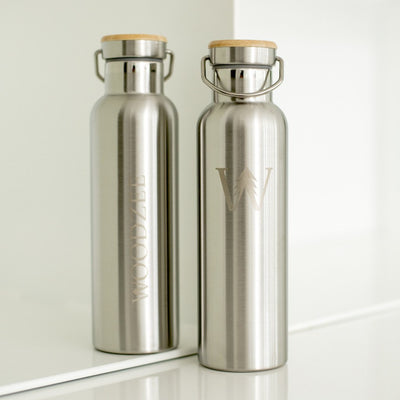 Stainless Steel Water Bottle - Accessories - Woodzee
