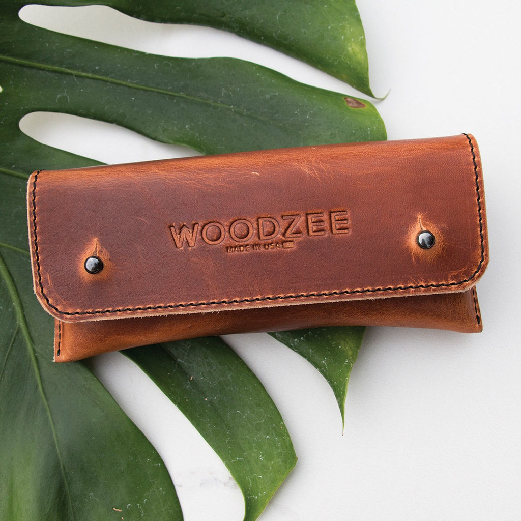 Handmade Leather Case, Accessories, Woodzee, Woodzee  Save Template- Woodzee