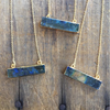 Billy Sky Jewelry Labradorite Bar Necklace