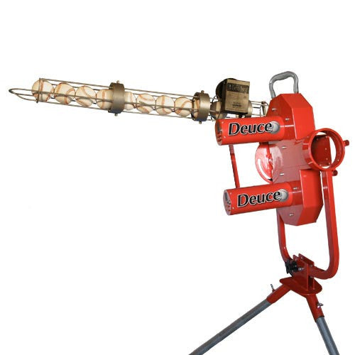 Heater Sports Deuce Pitching Machine - Wheel House Pitching Machines