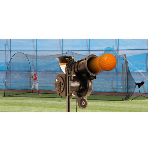 Heater Sports PowerAlley Lite & PowerAlley Cage - Wheel House Pitching Machines