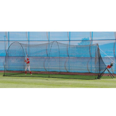 Heater Sports Basehit Machine & Poweralley Cage - Wheel House Pitching Machines