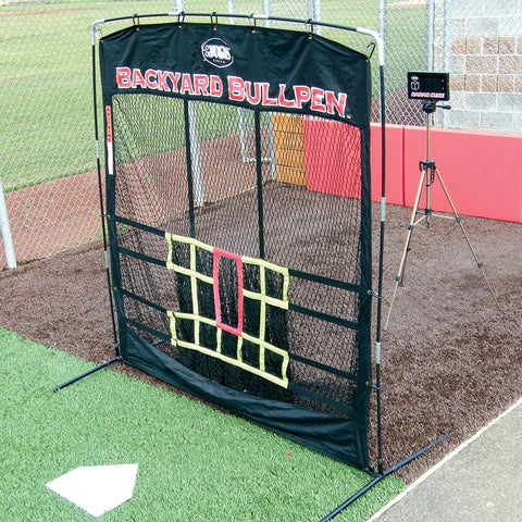 JUGS Backyard Bullpen Package for Baseball or Softball - Wheel House Pitching Machines - 1