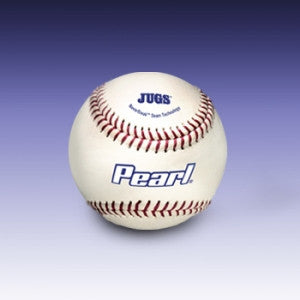 JUGS Pearl Leather Baseballs - Wheel House Pitching Machines - 1