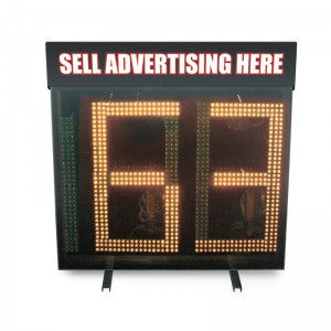 JUGS 24-Inch 3-Digit Wireless LED Readout Display - Wheel House Pitching Machines