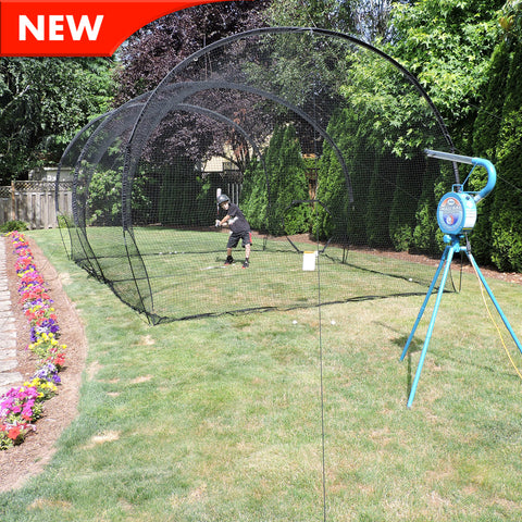 JUGS Small-Ball® Backyard Net Packages Baseball/Softball - Wheel House Pitching Machines - 1