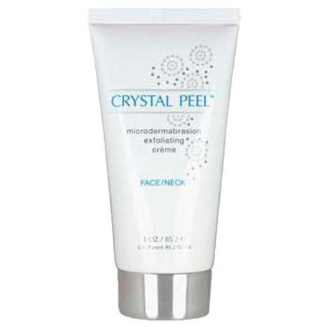 Crystal Peel Microdermabrasion Exfoliating Creme Face/Neck 3oz