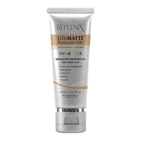 Replenix UltiMATTE Perfection SPF 50+ Tinted Physical Sunscreen 1.5 oz