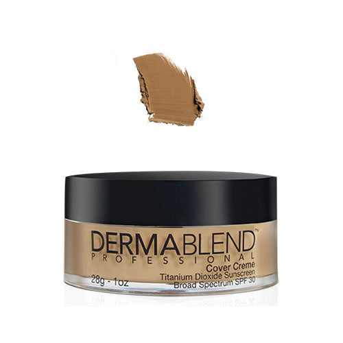 Dermablend Cover Creme Chroma 1oz 5 3/4 Toasted Brown SPF30