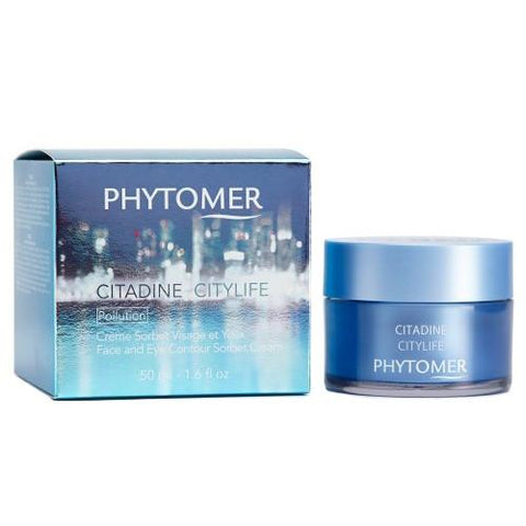 Phytomer CityLife Face & Eye Contour Sorbet Cream 1.6oz