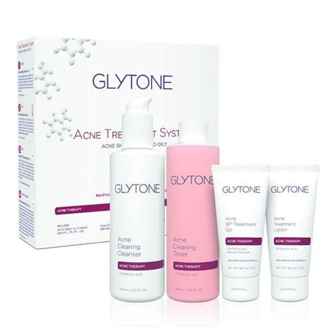 Glytone Acne Treatment System (includes 4 products)
