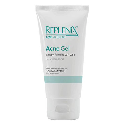 Replenix Benzoyl Peroxide Acne Gel 2.5% 2 oz.