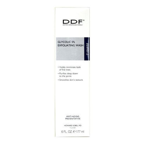 DDF Glycolic 5% Exfoliating Wash 6oz