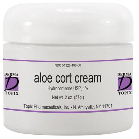 Topix Aloe Cort Cream 1% Hydrocortisone 2oz