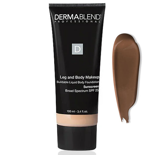 Dermablend Leg & Body Makeup SPF 25 DEEP NATURAL 85N 3.4oz