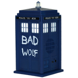 Doctor Who BAD WOLF TARDIS Portable Bluetooth® Speaker - Fametek Collectibles